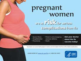 Pregnant Women are at Risk