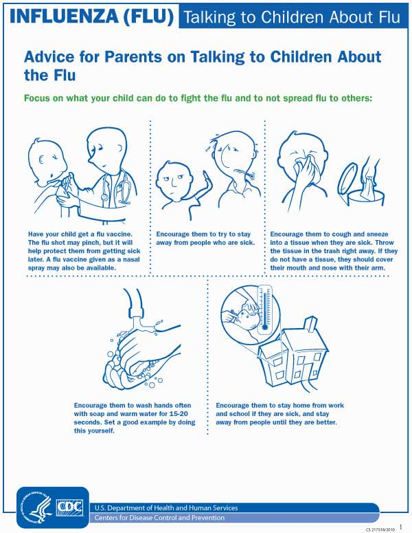 Talking to Children About Flu