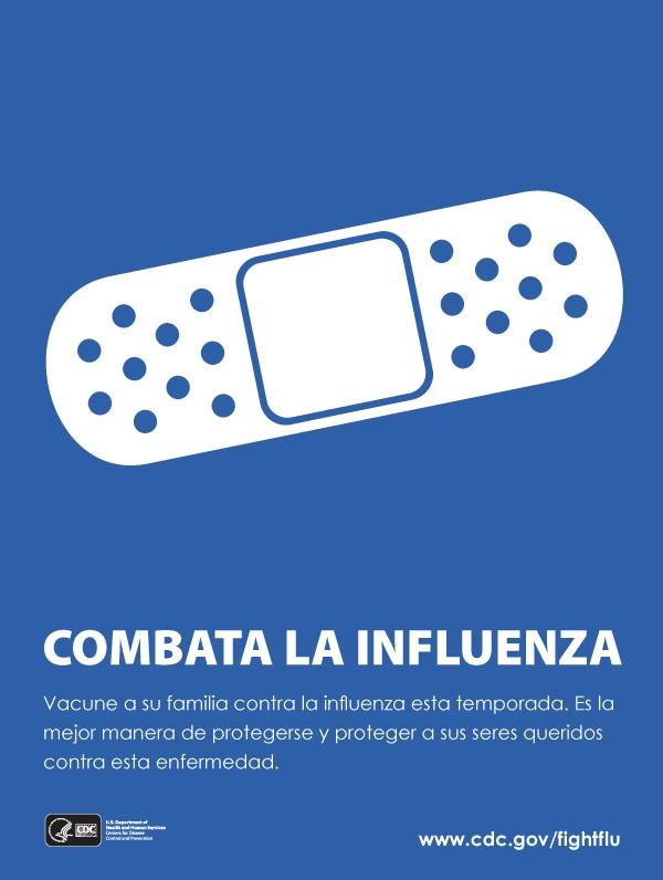 Combata la influenza