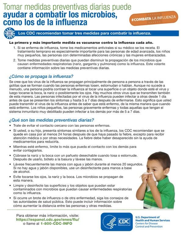 Medidas preventivas para combatir gérmenes