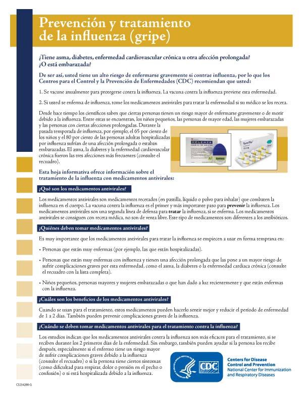 Prevención y Tratamiento de la Influenza