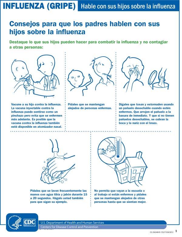 Hablar con los niños sobre la influenza