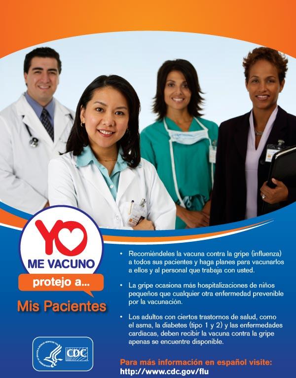 Yo Me Vacuno Protejo a Mis Pacientes