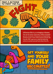 Take Three Actions to Fight the Flu