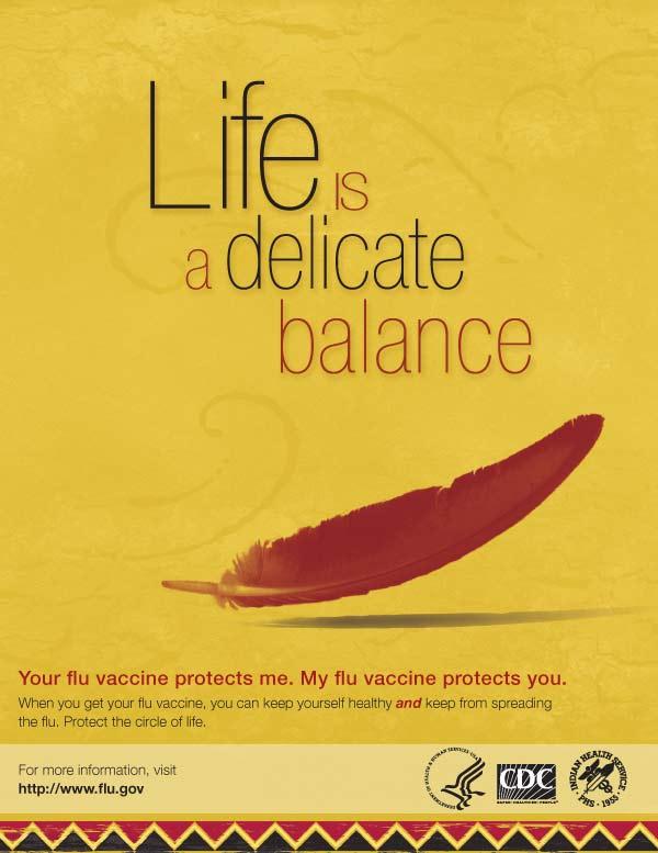 El delicado balance de la vida