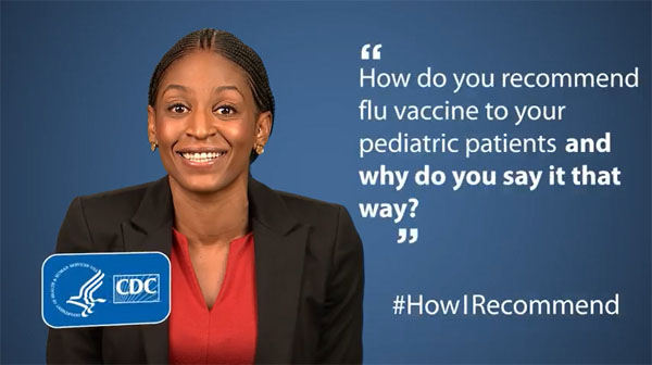 Dr. Tolu Adebanjo Describes How She Recommends Flu Vaccine to Pediatric Patients