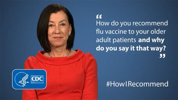 Pamela Rockwell, DO, Describes How She Recommends Flu Vaccine to Older Adult Patients