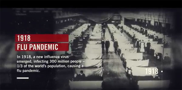 Influenza pandémica de 1918