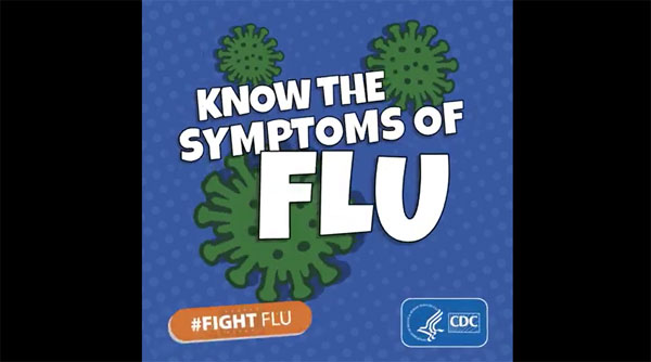 Know the symptoms of flu