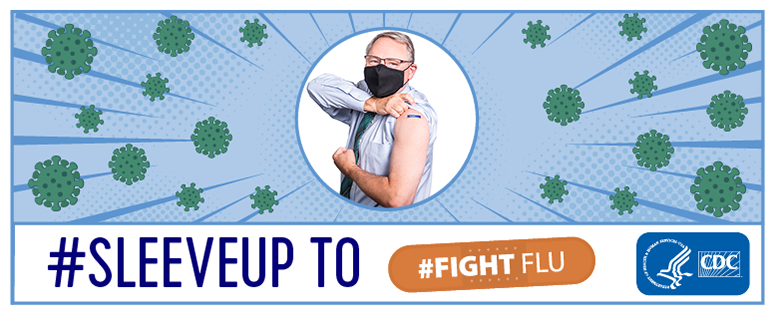 #SleeveUp to #Fightflu