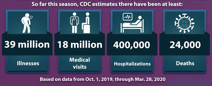 2019-2020 Preliminary In-Season Flu Burden Estimates