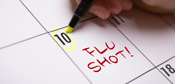 Everyone 6 months & older should receive a yearly flu vaccine.