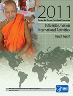 Fiscal Year 2011 Annual Report, Influenza Division International Activities