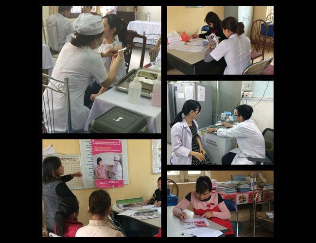Una historia de éxito:vacunación contra la influenza estacional de los trabajadores de la salud de Vietnam