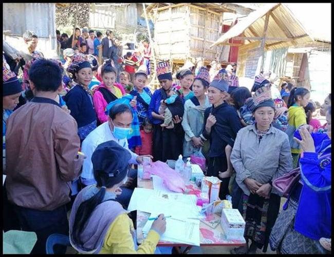 Se frena brote de influenza en tribus de las colinas de Laos mediante una respuesta rápida y apoyo a nivel regional