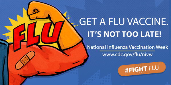 Get a flu vaccine.  It's not too late!