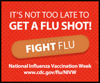 Have you gotten your flu vaccine? Its not too late!