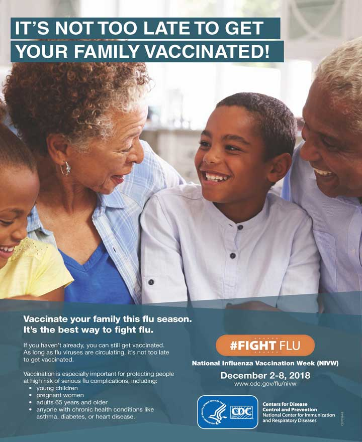 It's Not Too Late to Get Your Family Vaccinated! (Family)