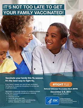 NIVW material: Its Not Too Late to Get Your Family Vaccinated!