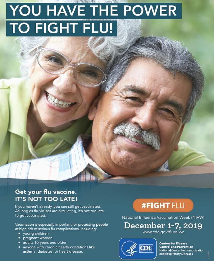 You have the power to fight flu!