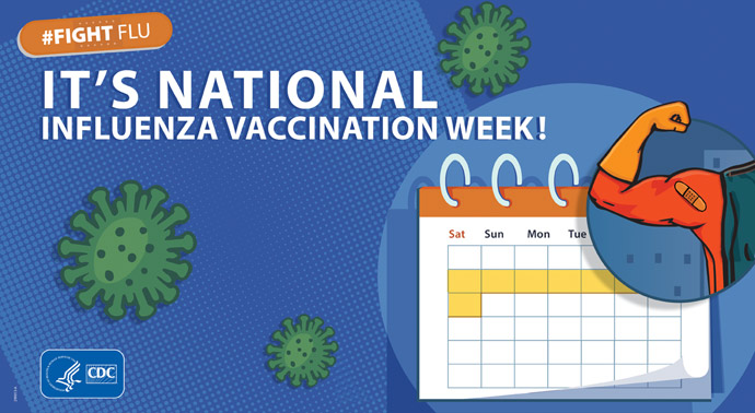 It's National Influenza Vaccination Week!