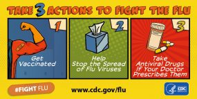 Take 3 actions to flight the flu