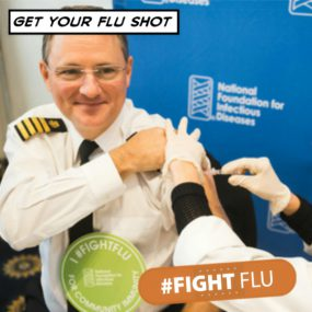 Fight Flu Facebook Frame