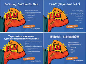 CMS Expands Multi-Language Flu Prevention Resources