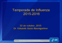 Spanish Language and Flu 101 Webinar by Dr. Eduardo Azziz-Baumgartner