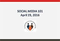Medios sociales 101 - Un seminario virtual presentado por: Alfonso Pernía, Natacha Ginocchio y Jeannine Hunter