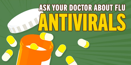 ask your doctor about flu anitvirals