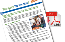 Why Get a Flu Vaccine? Fact Sheet