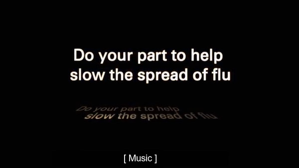 stop the spread of flu video