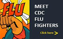Superhéroe contra la influenza