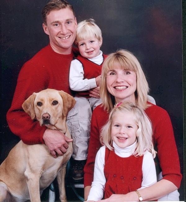 Jessica Stein y familia
