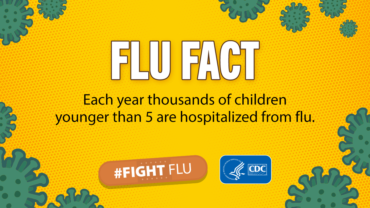 Flu Fact: Thousands of children hospitalized from flu
