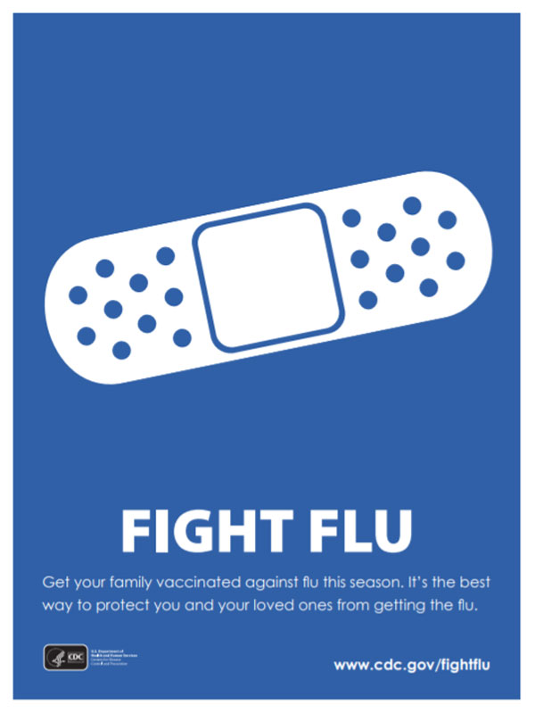 Fight Flu Get your family vaccinated against flu this season. It's the best way to protect you and your loved ones from getting the flu.