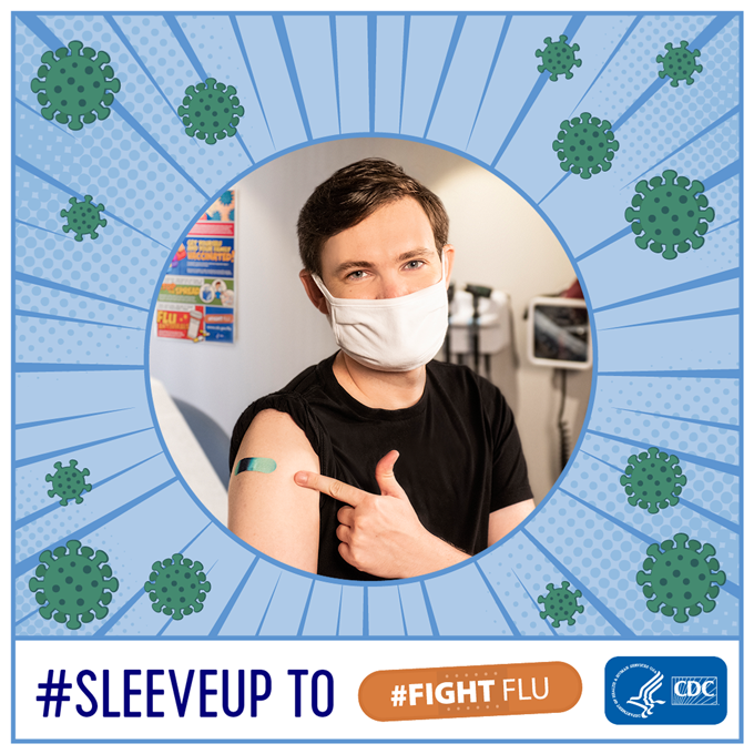 #SleeveUp to #FightFlu.