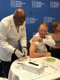Director de la División de Influenza de los CDC, Dan Jernigan, M.D., M.P.H.