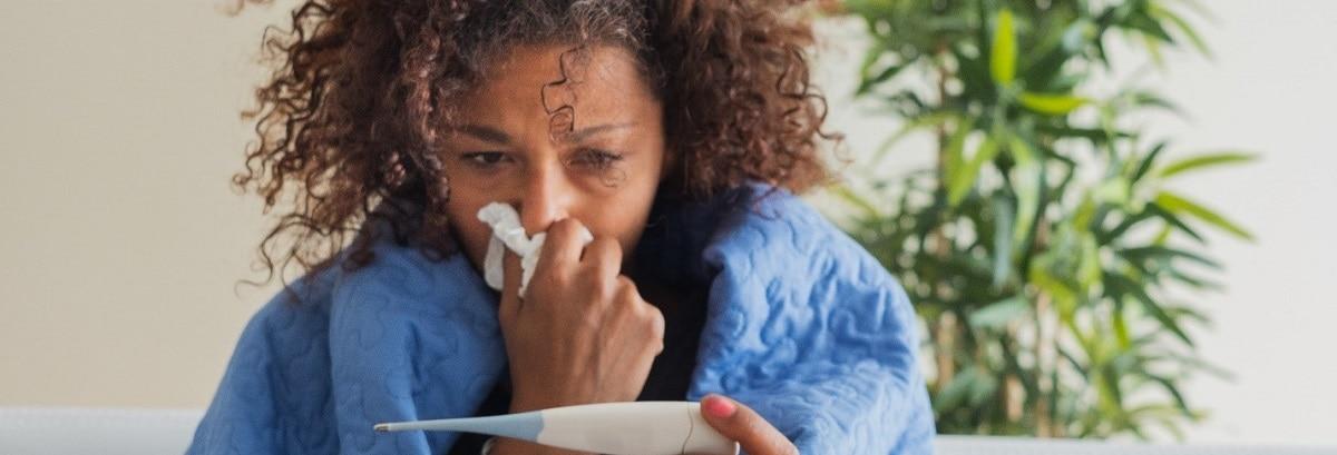 mujer-con-fiebre