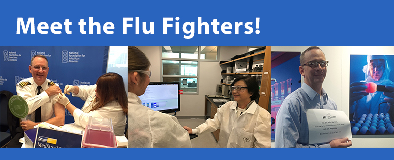Meet the flu fighters!