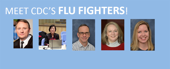 ¡Conozca a lossuperhéroesde los CDC que combaten la influenza!