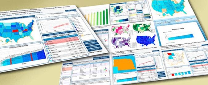 Ver cálculos de la cobertura de vacunación contra la influenza a nivel nacional y estatal a través de mapas interactivos, líneas de tendencia, gráficos de barras y tablas de datos.