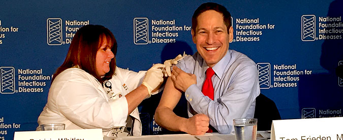 CDC Director Kicks Off 2016-2017 Flu Vaccination Campaign.