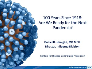 Graphic: 1918 Pandemic Flu Partner Webinar