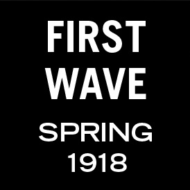 Graphic: first wave - spring 1918