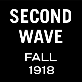 Graphic: Second wave - fall 1918