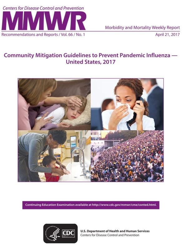 Directrices de mitigación en la comunidad para prevenir la influenza pandémica