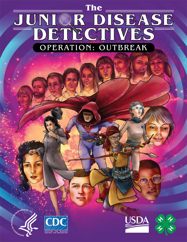 The Junior Disease Detectives: Operation Outbreak Graphic Novel | CDC