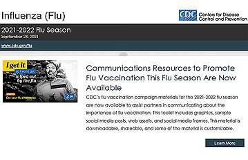 Suscríbase a las actualizaciones por correo electrónico sobre la influenza